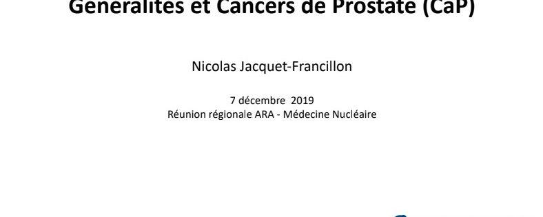 68Ga-PSMA PET/CT : Généralités et Cancers de Prostate (CaP)
